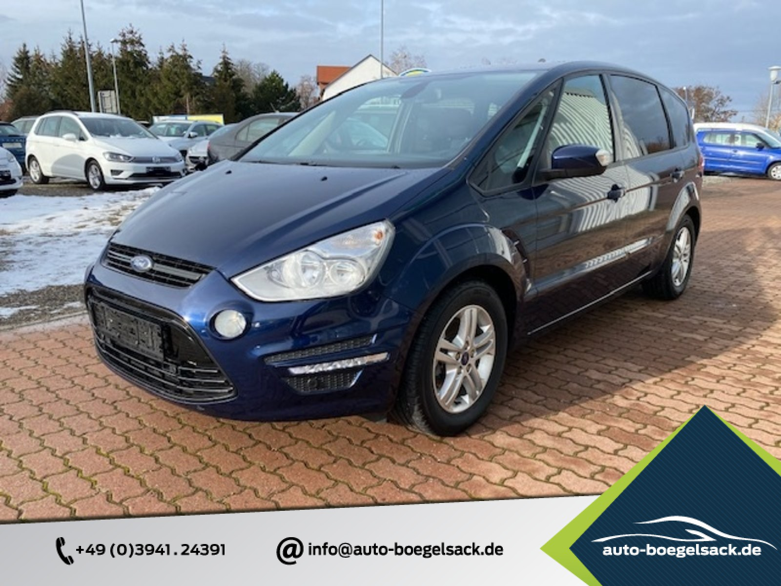 Ford S-Max Business Edition+NAVI+7-SITZE